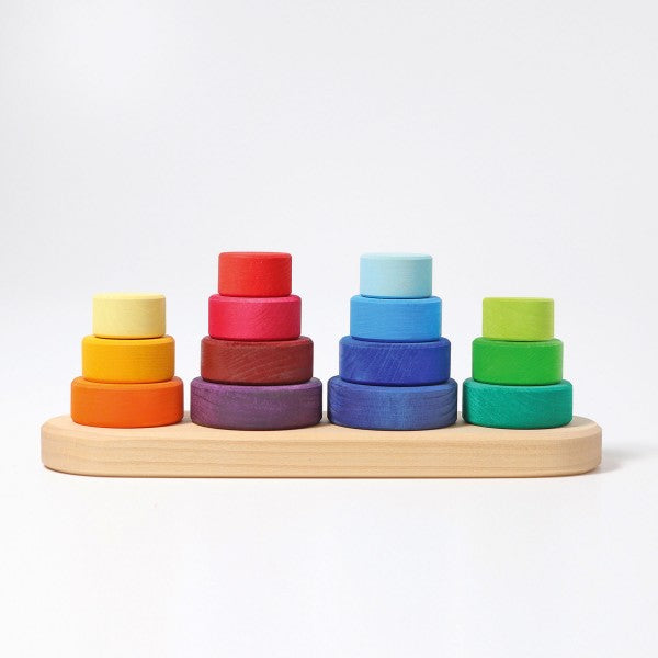 Fabuto - Grimm's Heirloom Wooden Sorting & Stacking Toy