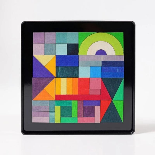 Geo-Graphical Magnetic Puzzle