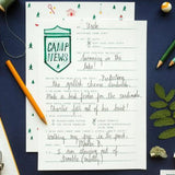 Letters from Camp - Writing Kit