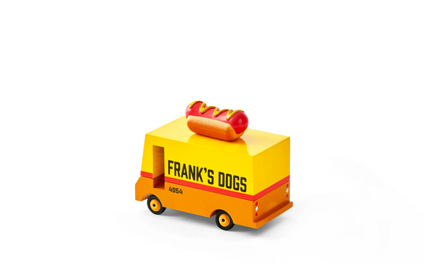 Wooden Hot Dog Van