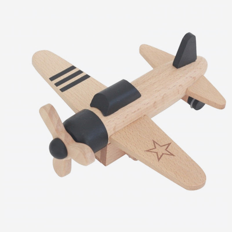 Hikoki - Wooden Wind-up Propeller Plane