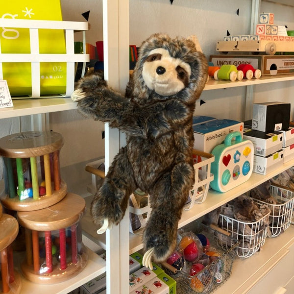 Ivy the Hanging Sloth Stuffie