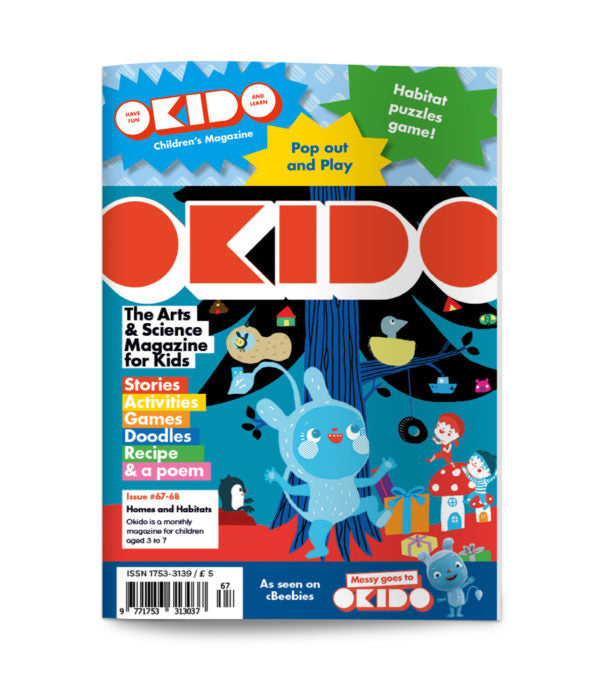 Okido - Issue 67 - Homes and Habitats