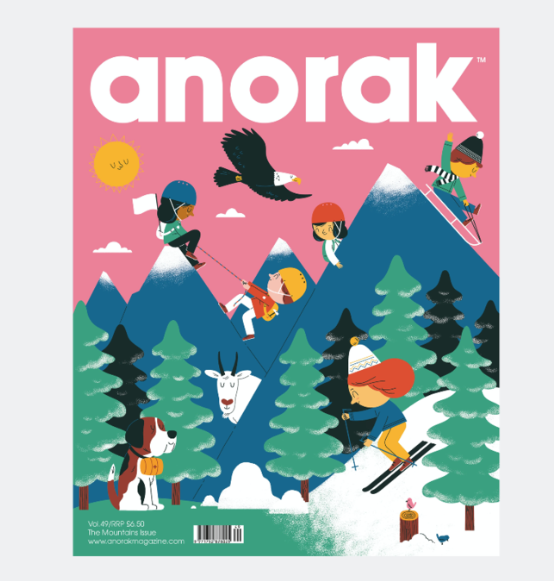 Anorak Magazine <br> Vol. 49 Mountains