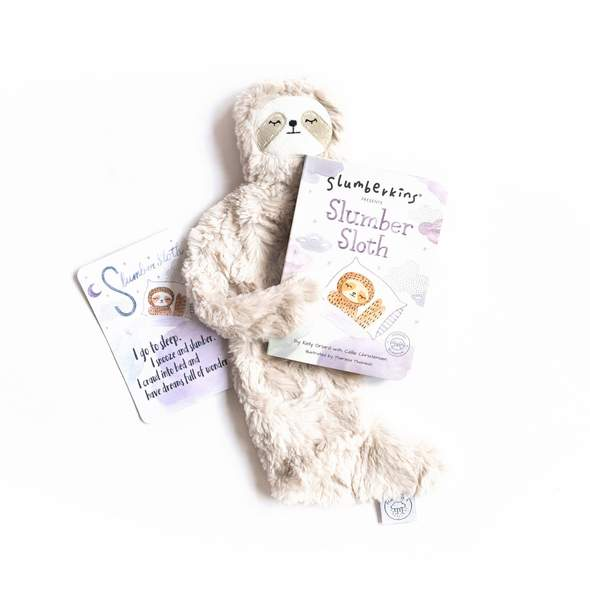 Slumberkins Slumber Sloth + Book Bundle
