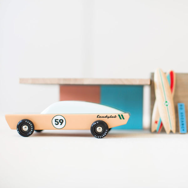 The Ace - Wooden Racecar