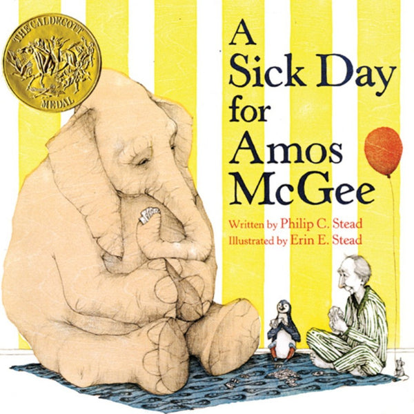 A Sick Day for Amos McGee - Board Book