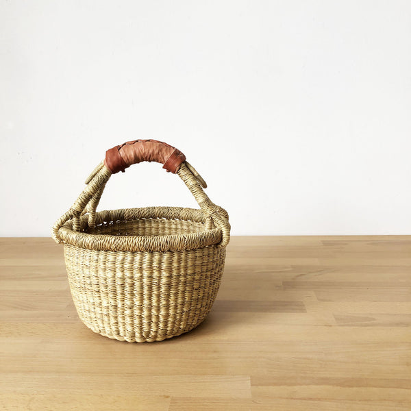 Small Market Basket with Handle