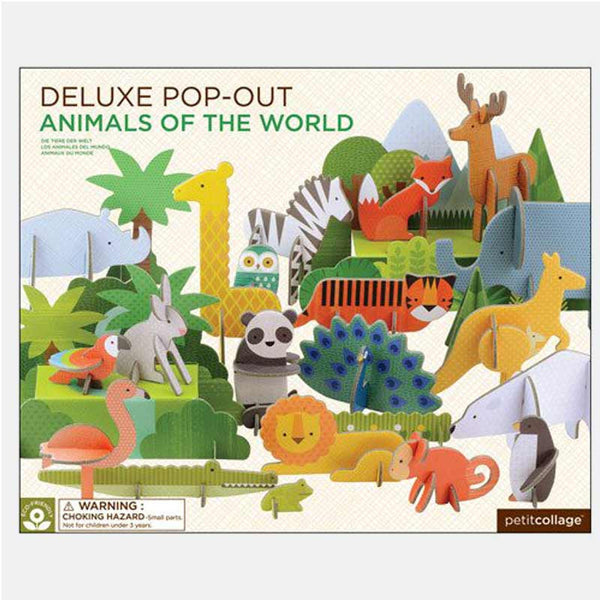 Deluxe Pop-Out & Play – Animals of the World