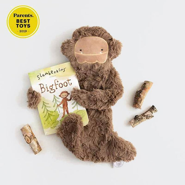 Slumberkins Bigfoot + Book Bundle