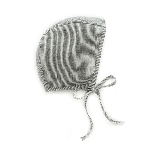 Natural Stripes Bonnet