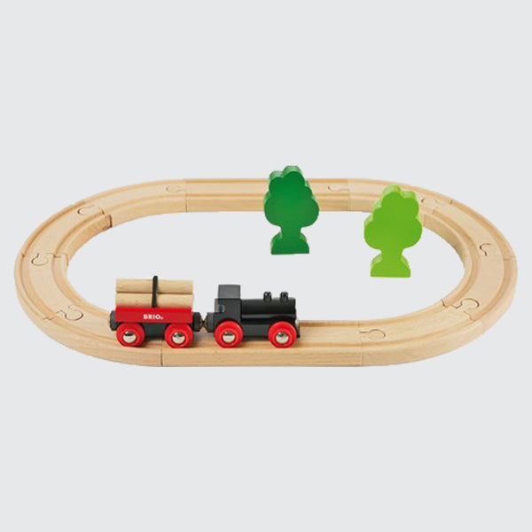 Little Forest - Classic Wooden Train Set