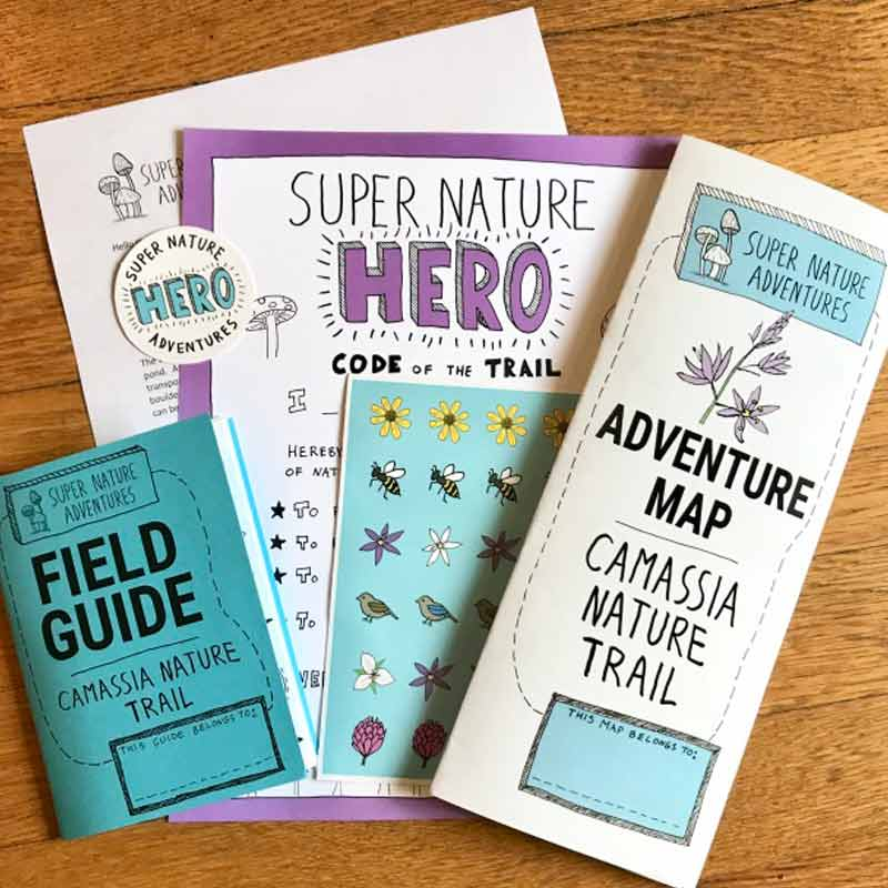Camassia Nature Trail - Family Hiking Packet