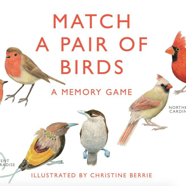 Match a Pair of Birds - Memory Game