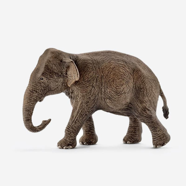 Female Asian Elephant Figurine