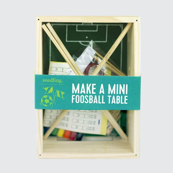 Make Your Own Mini Foosball Table