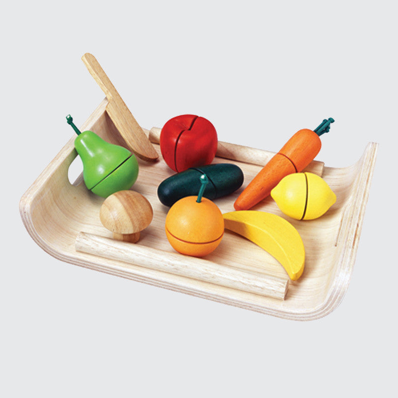Wooden Fruits & Veggies