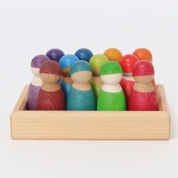 Grimm's Wooden Rainbow Friends