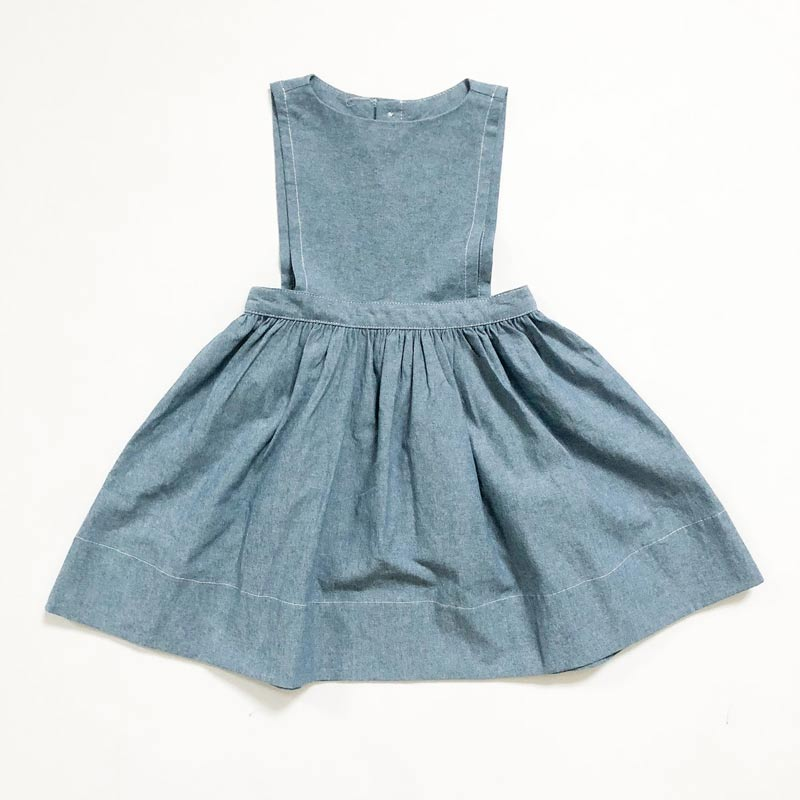 Prairie Pinafore Chambray