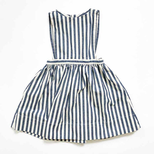 Prairie Pinafore Striped