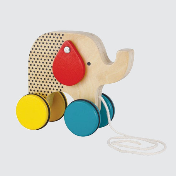 Jumping Jumbo <br> Elephant Pull Toy