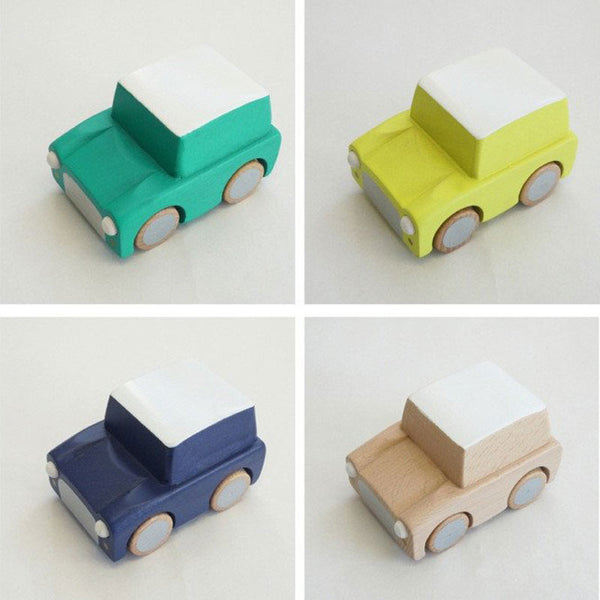 Wooden Karuma Pull-Back Car