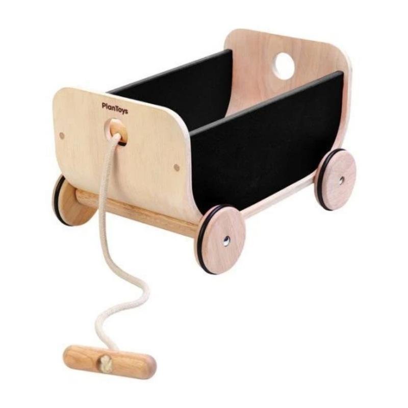 Black Wooden Wagon