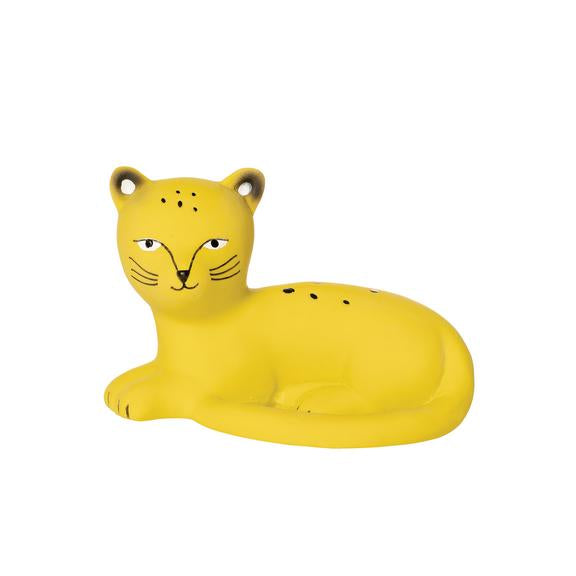 Langley the Leopard Natural Rubber Teether