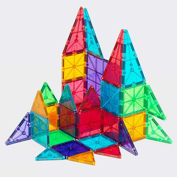Magnatiles – Clear Colors – 100 Piece Set