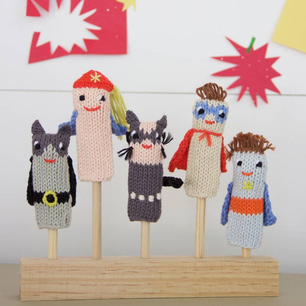 Finger Puppet Display