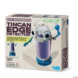 Tin Can Edge Detector Robot Kit