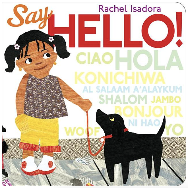 Say Hello - Board Book
