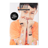 Set of Temporary Tattoos - Kids Mix One