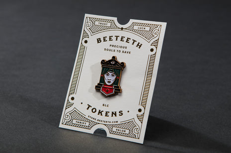 Fortune Teller Pin by Bee Teeth