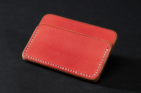 Card Case - Red by Ruth Pullan