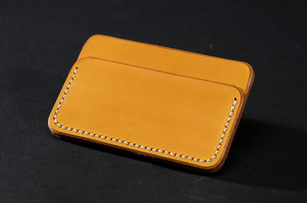 Card Case - Yellow by Ruth Pullan
