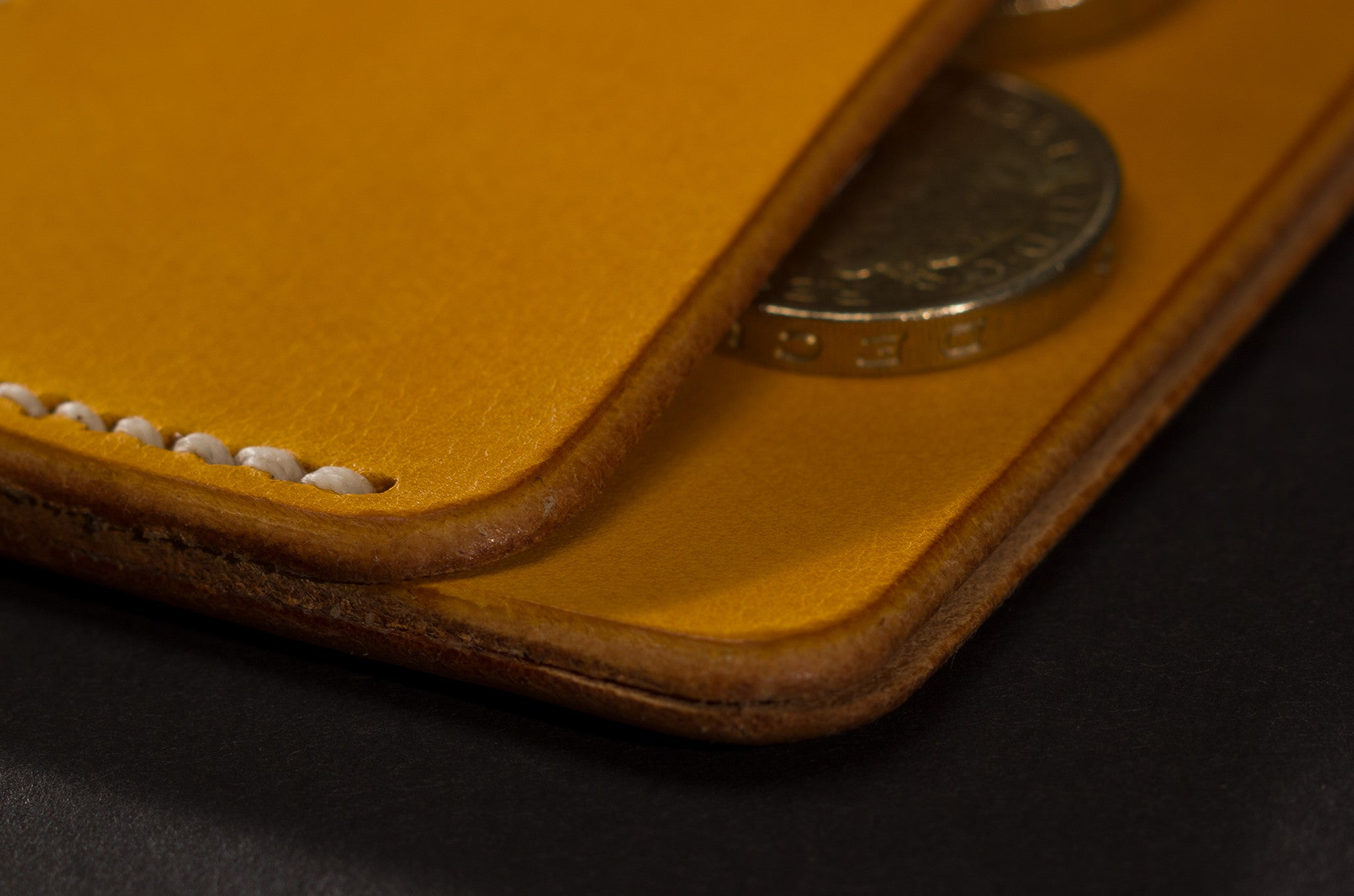 Card Case - Yellow
