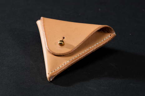 Coin Purse - Natural by Ruth Pullan