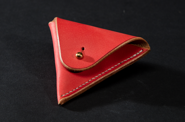 Coin Purse - Red by Ruth Pullan
