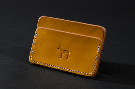 Card Case - Yellow by Ruth Pullan X Strange