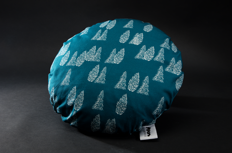 Greenland Trees Round Cushion by B Goods