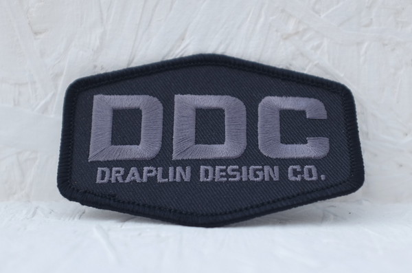 DDC Embroidered Patch - Black by Draplin Design Co.