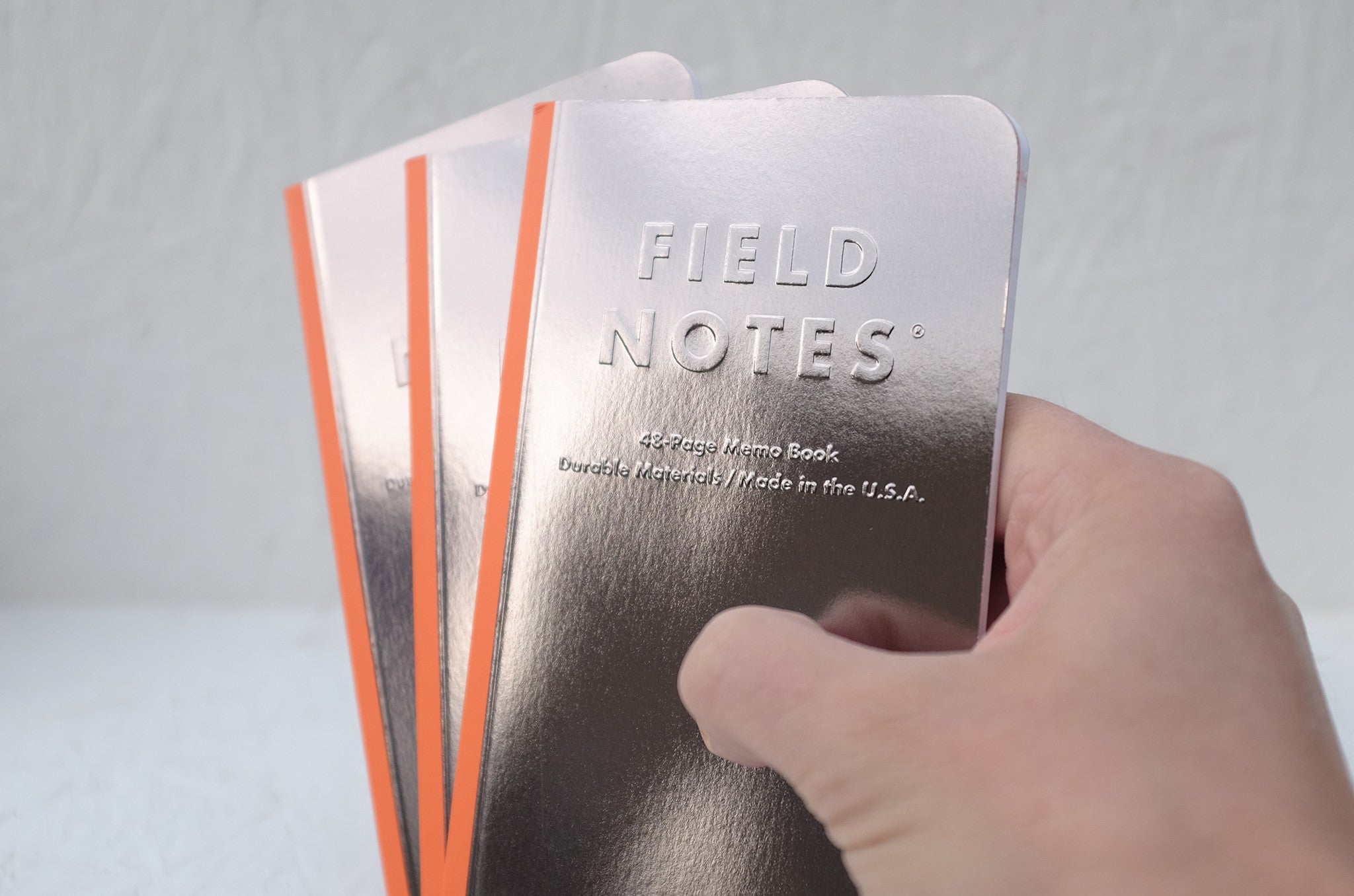 Field Notes notebooks - 'Black Ice' 3-pack