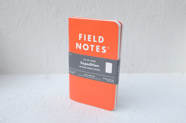 Field Notes notebooks - 'Expedition' 3-pack by Draplin Design Co.