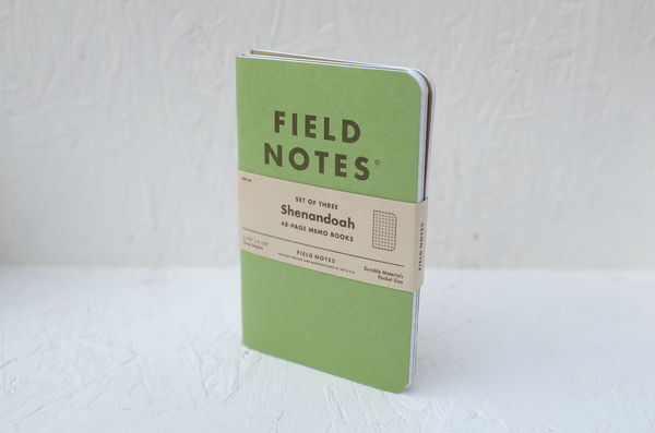 Field Notes notebooks - 'Shenandoah' 3-pack by Draplin Design Co.