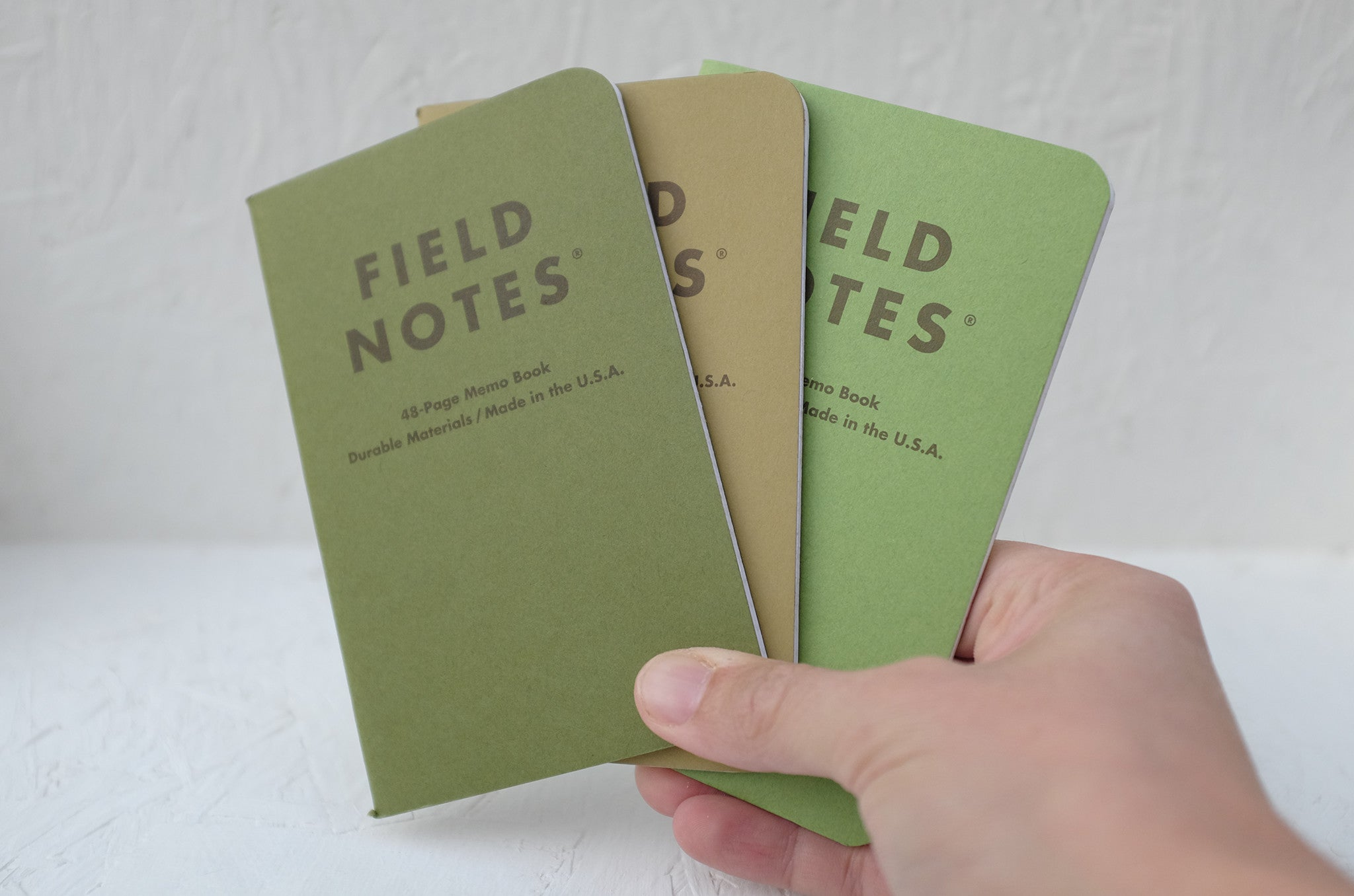 Field Notes notebooks - 'Shenandoah' 3-pack