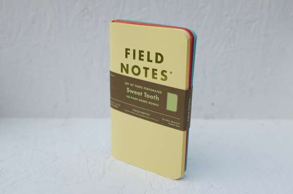 Field Notes notebooks - 'Sweet Tooth' 3-pack by Draplin Design Co.