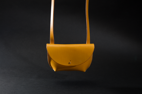 Pouch Bag - Yellow by Ruth Pullan
