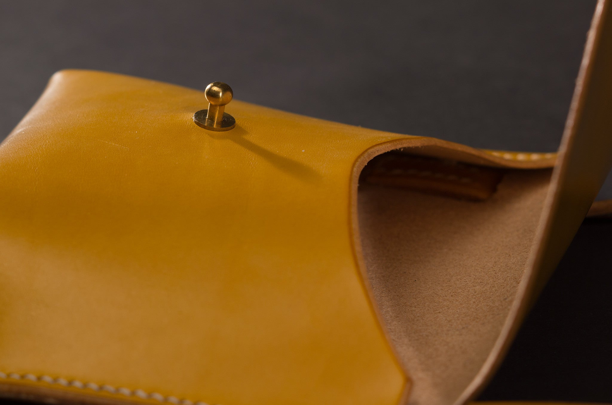 Pouch Bag - Yellow