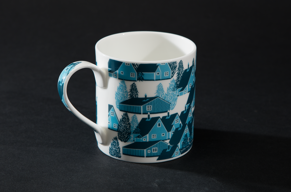 Greenland Blue Mug by B Goods